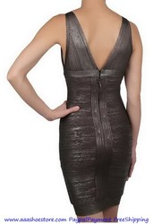 HERVE LEGER ARI ESSENTIAL BANDAGE DRESS ON SALE Free shipping Paypal p