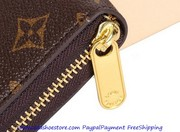 Louis Vuitton Brieftasche Real Leather Discount Free shipping Paypal p