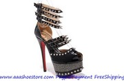 Wholesale Christian Louboutin Isolde Black 160mm Free shipping Paypal