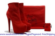 New Year Promotion Christian Louboutin Daffodile 160mm Boot Matte Leat