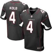 Wholesale Men's Nike Arizona Cardinals 4 Kevin Kolb Elite Black Altern