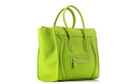 Celine Luggage Mini in Pony Calfskin Light Green Handbag Sale
