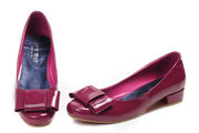 Miu Miu Glitter Ballerinas Red Shoes wholesale with free shipping and